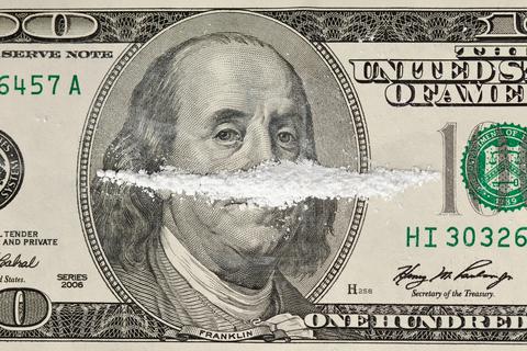 Drugs on Money