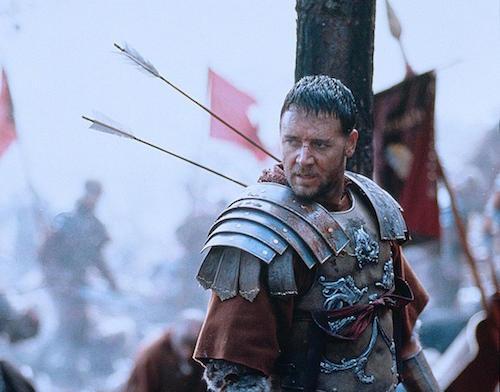 T: Gladiator / Gladiator D: Russell Crowe R: Ridley Scott P: USA J: 2000 PO: Szenenbild RU: Drama DA: , - Nutzung von Filmszenebildern nur bei Filmtitelnennung und/oder in Zusammenhang mit Berichterstattung ¸ber den Film.
